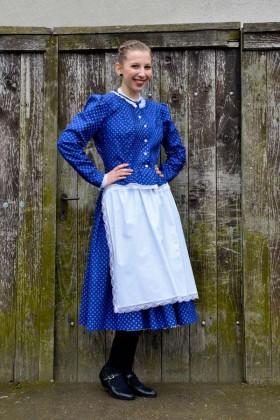 Kékfestő viselet
